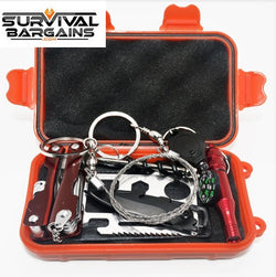SOS Emergency Preparedness Survival Kit 8 in 1 Tools