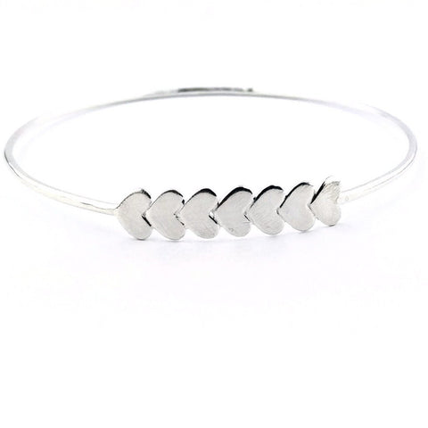 Love Eternity™ Bar Heart Bangle
