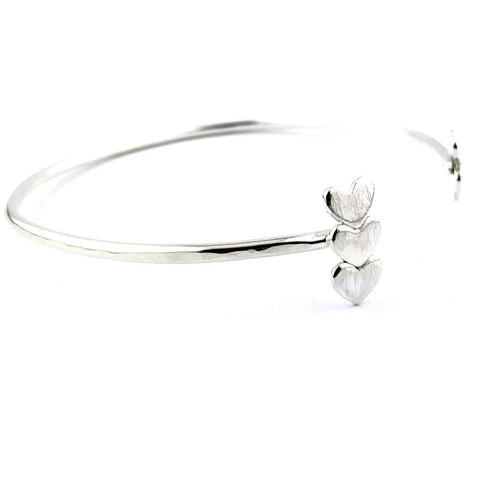 Love Eternity™ Lateral Bar Heart Cuff