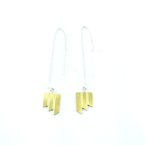 Nova Threader Earrings