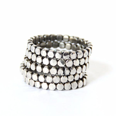 Dotted Stacking Ring