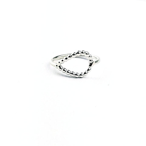 Scallop Dewdrop Ring1
