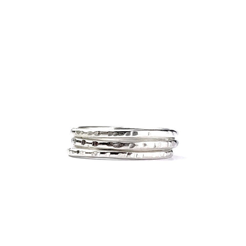 Skinny Textured Stack no. 3
