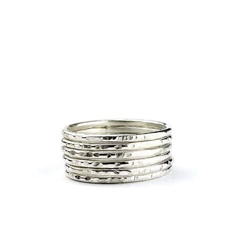 Skinny Textured Stack no. 6