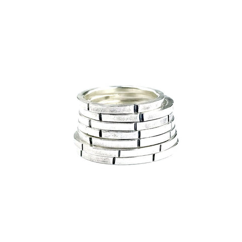 Linear Stacking Ring Band