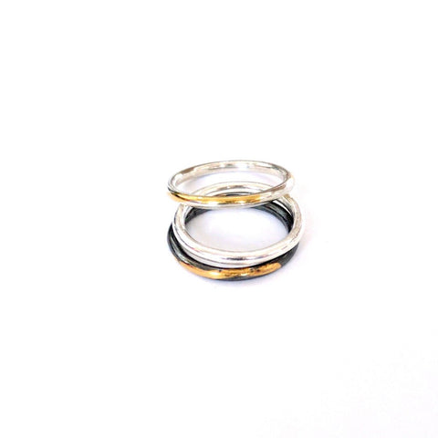 Trireck Stacking Ring
