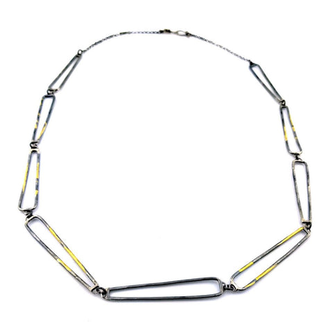 Trireck Nine Chain Link Necklace
