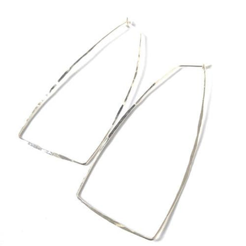 Trireck Hoop Earrings