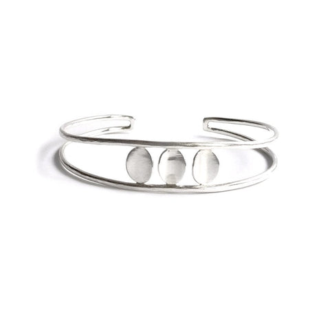 Three Oval Drops Cuff