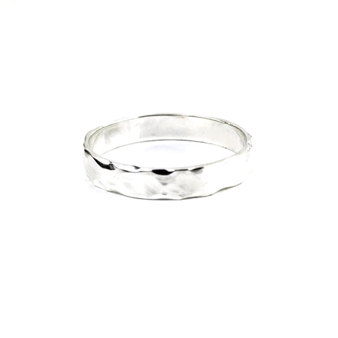 Slim Faceted Band