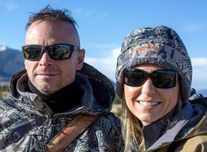Skeleton Optics' owners Mark & Lori