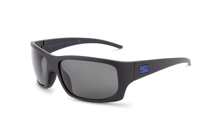 OUTLAW - BLUE GUN EDITION-Matt Black-Gray-Skeleton Optics NZ
