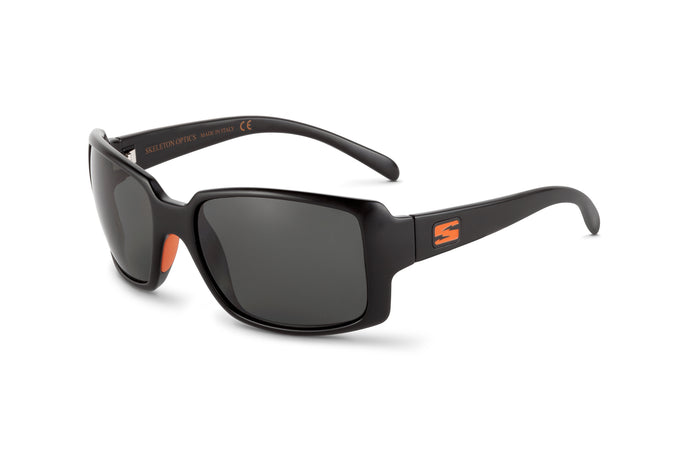 STAMPEDE - BLAZE ORANGE EDITION-Gloss Black-Gray-Skeleton Optics NZ