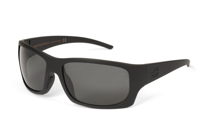 OUTLAW - BLACK-OUT EDITION-Matt Black-Gray-Skeleton Optics NZ