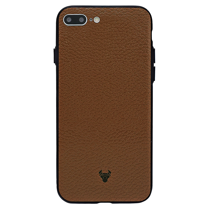 Brown Leather Case For iPhone 8 Plus