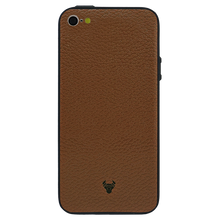 Brown Leather Case For iPhone SE