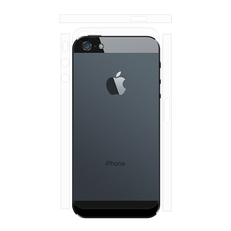 Back Clear For iPhone 5.png