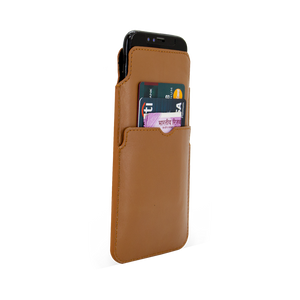 Black Bars Smartphone Pouch For Oppo F5