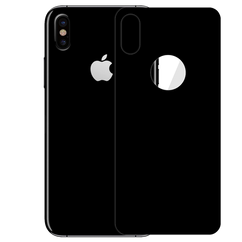 Black Back Clear Toughn For iPhone X