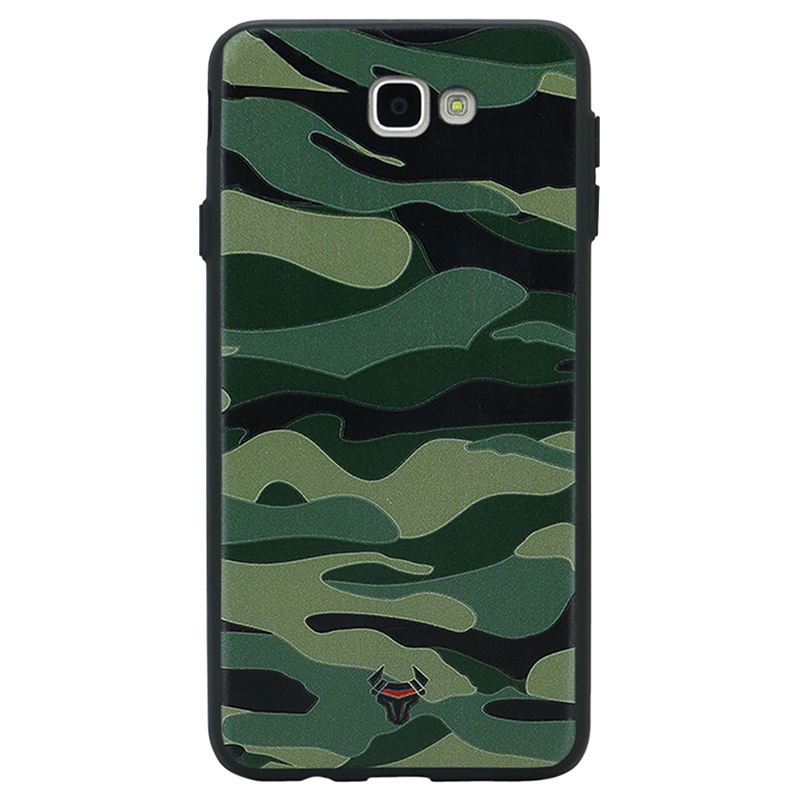 Camouflage Green Case For Galaxy J5 Prime