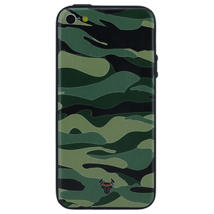Camouflage Green Case For iPhone 5s