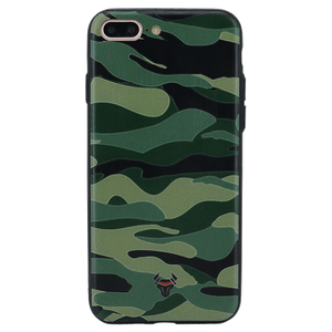 Camouflage Green Case For iPhone 8 Plus