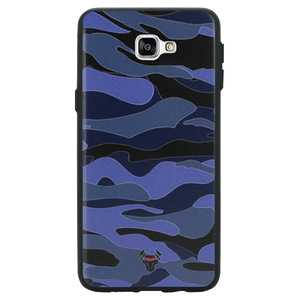 Camouflage Blue Case For Galaxy A9 Pro