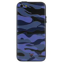 Camouflage Blue Case For iPhone 5s