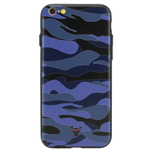 Camouflage Blue Case For iPhone 6s Plus