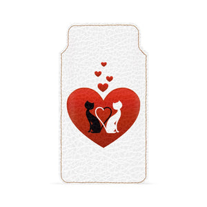 Cat In Love Smartphone Pouch For Xiaomi Redmi 5A