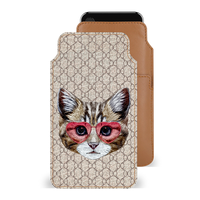 Cattitude Smartphone Pouch For iPhone X