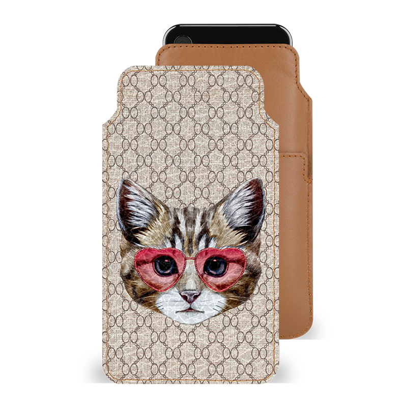 Cattitude Smartphone Pouch For Galaxy A8 Plus 2018