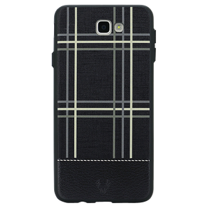 Checkered Black Case For Galaxy J5 Prime