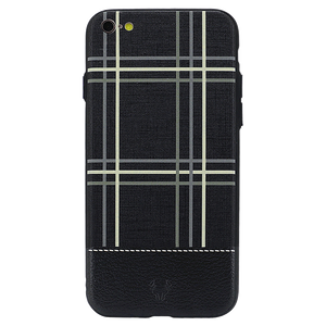 Checkered Black Case For iPhone 6 Plus