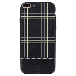 Checkered Black Case For iPhone 7 Plus