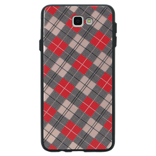 Checkered Luxe Case For Galaxy J5 Prime