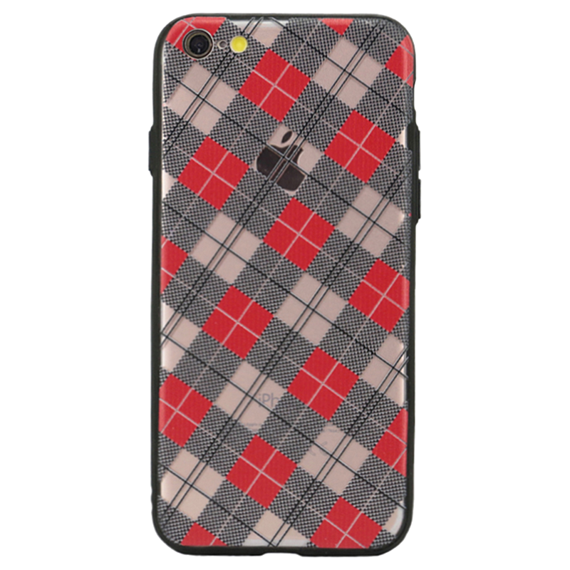 Checkered Luxe Case For iPhone 6s