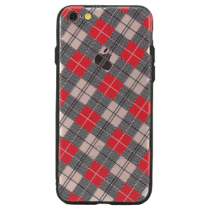 Checkered Luxe Case For iPhone 6