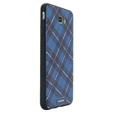 Checkered Navy Case For Galaxy J5 Prime