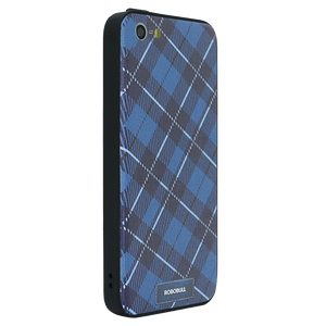Checkered Navy Case For iPhone 5s