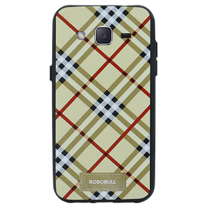 Checkered Yellow Case For Galaxy J2 2016