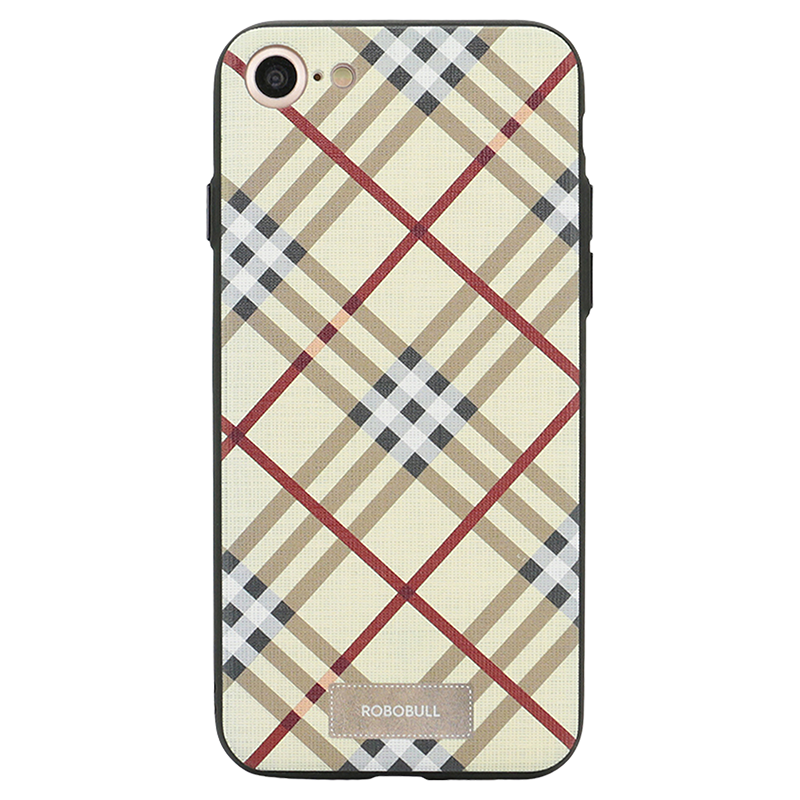 Checkered Yellow Case For iPhone 7