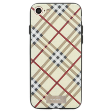 Checkered Yellow Case For iPhone 8