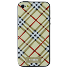 Checkered Yellow Case For iPhone 5