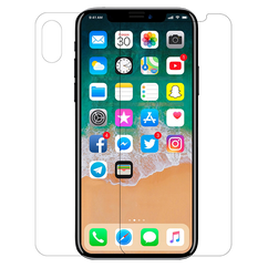 Clear Scbc Hammer For iPhone X