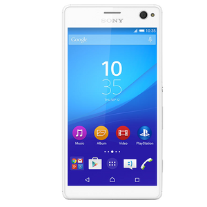 Clear Toughn Tempered Glass For Sony C4 Dual