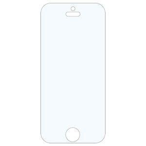 Clear Toughn For iPhone 5s