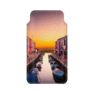 Color Dusk Smartphone Pouch For Oppo R11S