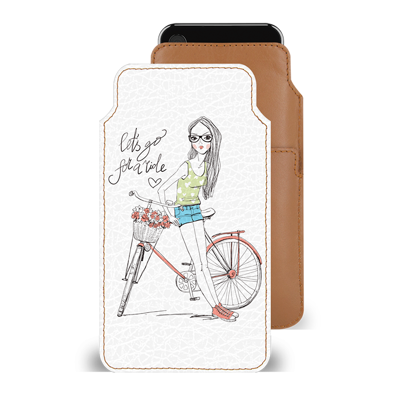 Cute Rider Smartphone Pouch For Vivo Y53