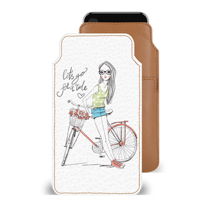 Cute Rider Smartphone Pouch For Google Pixel 2 XL